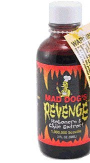 Mad Dog Revenge Extract 1 Mio. Scoville 50ml Flasche