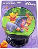 Disney Winnie The Pooh Mousepad with Wrist Protection - Pooh & Friends