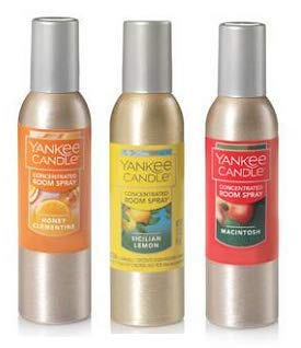 Yankee Candle Concentrated Room Spray 1.5 Oz. Honey Clementine, Sicilian Lemon and Macintosh. by Yankee Candle