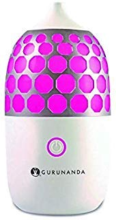 GuruNanda Essential Oil Diffuser- 90ml Honeycomb Aromatherapy...