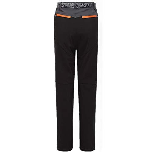 Impermeabile Foderato Pantaloni Campeggio Softshell S Escursionismo Pantaloni Pantaloni All'aperto Fleece Antivento da Donna Uomo Inverno da Pantaloni da 3XL Juqilu Coppia Trekking 3 da w4zqaY
