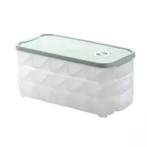 20 Rejas de masa hervida Bandeja de almacenamiento de doble capa Sushi frescos del frigorífico para frutas y verduras...