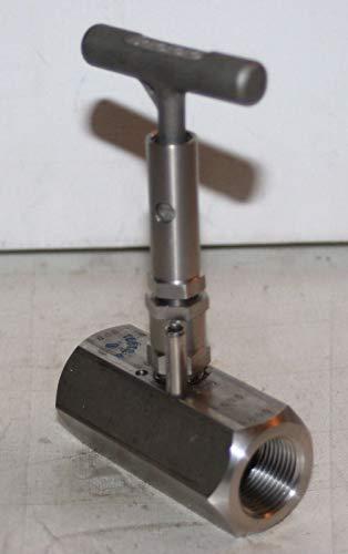 3/4'' NPT SS Needle Valve (6000 PSI @ 200F) Tyco Anderson Greenwood H7VIS-6Q-LAT-PD by 3/4'' NPT SS Needle Valve (6000 PSI @ 200F) (Image #1)