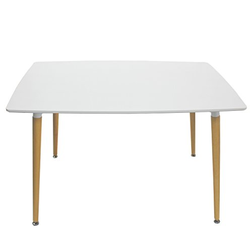 rectangular wood dining table - 6