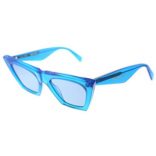 Celine CL41468/S GEG Blue CL41468/S Cats Eyes Sunglasses Lens Category 2 Size ()