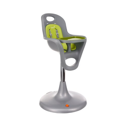 Boon Flair Pedestal High Chair,Gray/Green by Boon