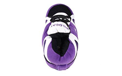Vrolijke Voeten Heren En Dames Officieel Gelicenseerde Ncaa College Sneaker Slippers Kansas Staat Wilde Katachtigen