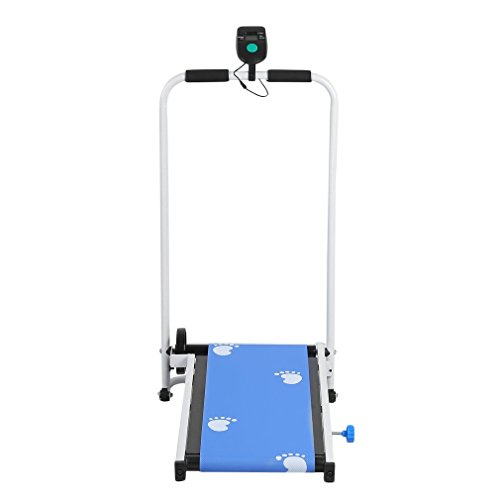 Manual Portable Folding Incline Treadmill Training Equipment Jogging Running Machine Home Gym Cardio Exercise Fitness