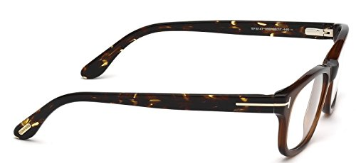 Tom Ford Montures de lunettes FT5147 Dark Brown / Tortoise, 50mm 050: Dark Brown / Tortoise