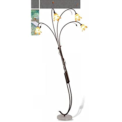 Image of 89'h Windance Floral Arch Lamp Ok11#9743 Home and Kitchen