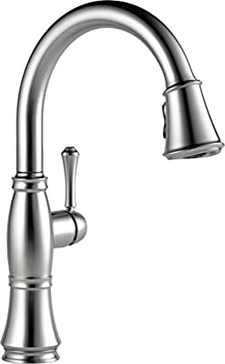 Delta 9197-DST Cassidy Pull-Down Kitchen Faucet with Magnetic Docking Spray Head,