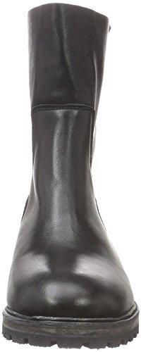 Robinne Heavy Shabbies Stivali Sole Amsterdam 20cm Arricciati Donna Nero Midboot black xqfWX4twAf