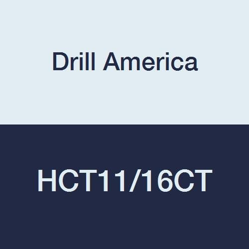 Drill America HCT11//16CT Carbide Tipped Reamer #40022 11//16