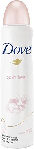 Dove Deospray Soft Feel Anti-Transpirant, 6er Pack (6x 150 ml)