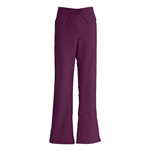 - Medline ComfortEase Ladies Modern Fit Cargo Scrub Pant, Medium, Wine