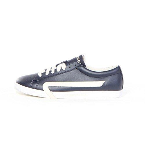 DieselY01112 BIKKREN P0612 - Zapatillas de Deporte Hombre Azul - Blue Nights / White Birch