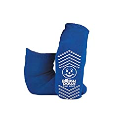 BARIATRIC SLIPPER SOCK NON SKID (3pk), 3X large, Blue, Blue, Size 3X large