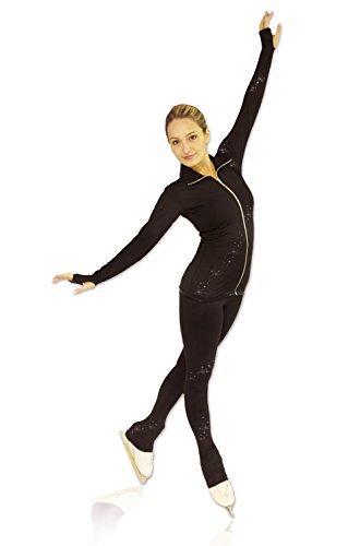 Niña Cristal Espiral Negro Skate Kami Mujer so Chaqueta AUq7Y