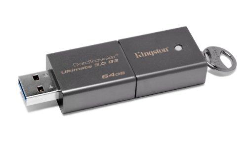 Kingston DataTraveler Ultimate G3 64GB USB 3.0 Flash Drive