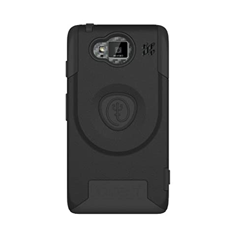 Trident Case AEGIS Series for Motorola DROID RAZR HD (XT926) - Retail Packaging - Black (Droid Razr Otterbox Case)