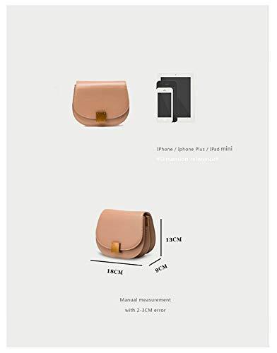 Mensajero Hxkb Bolso Femenina Bandolera Moda La De Una Bolsa Salvaje Tendencia Detrás Hombro Bag Crossbody xCrqnaCY