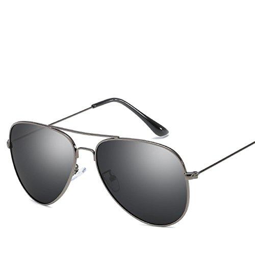 Classic Color Film Sunglasses Stylish Men and Women Universal Reflective Shadow ()