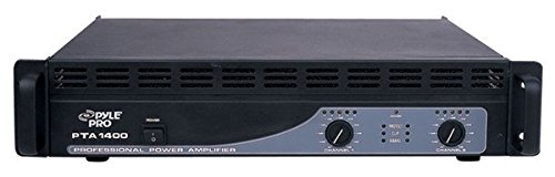 Pyle PTA1400 1400W Professional Power Amplifier by Pyle