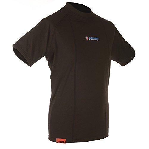 manga Camiseta Hombre Oxford interior termica corta trqErwz