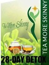 Tea More Skinny-Belly Fat Slimming Tea – Detox Weight Loss Tea- Appetite Suppressant With Green Tea-28 Day Supply