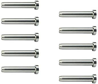 Muzata Cable Railing kit Invisible Hidden Turnbuckle 1//8 20 Pack Swage Threaded Stud Hex Head Fitting Tensioner of CR26 Receiver Terminal for Wood /& Metal Post CR36,Series CA1 CD1 CS1 CD2 CS2 CV1