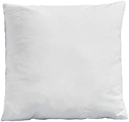 Enerhu クッション中材 クッション 中身 ヌードクッション 枕 まくら ソファークッション カークッション ふわふわ 高弾力 腰当て 腰痛対策 へたりにくい ホワイト 安眠 洗える 気持ちいい