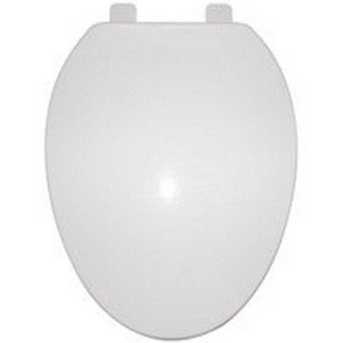 Toilet Seat Elong Poly White