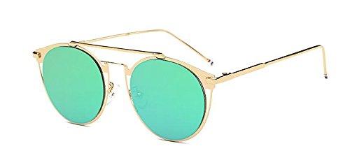 inspirées métallique soleil Mercure lunettes style du vintage retro rond cercle en de Vert polarisées Lennon wCtqtpP
