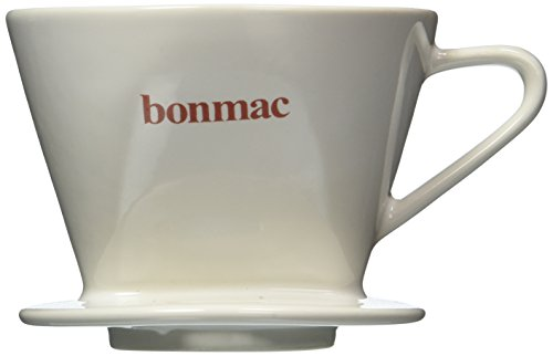 bonmac dripper white [2-4 cups] CD-2W # 813005 (japan import) ()