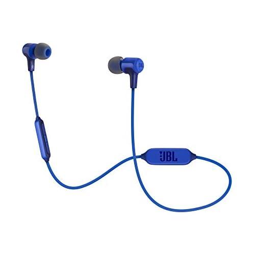 chollos oferta descuentos barato JBL E25BT Auriculares intraurales inalámbricos con Bluetooth y micrófono Batería de hasta 8 horas Color az