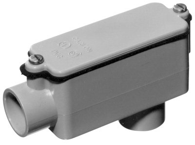 Thomas & Betts E986GR 1-1/4-Inch Type LB PVC Access Fitting - Quantity 6