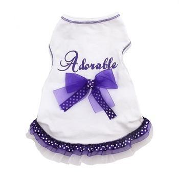 I See Spot Adorable II  Dress, XX-Small, White