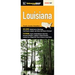 Louisiana Road Map