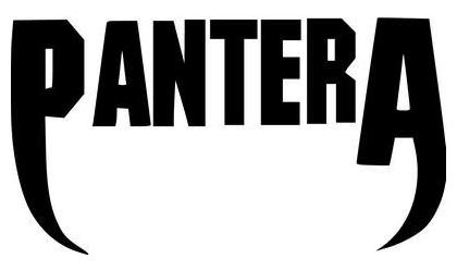 Pantera Rock Band - Sticker Graphic - Auto, Wall, Laptop, Cell, Truck Sticker for Windows, Cars, ()