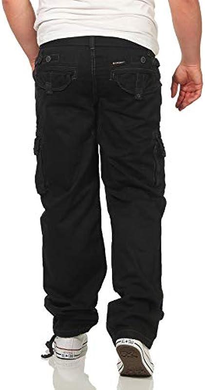 Geographical Norway Męskie spodnie Parasol Cargo spodnie rekreacyjne wojskowe spodnie wojskowe: Odzież
