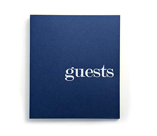 Wedding Guest Book Poloroid Guest Book With Blank Pages 8.5