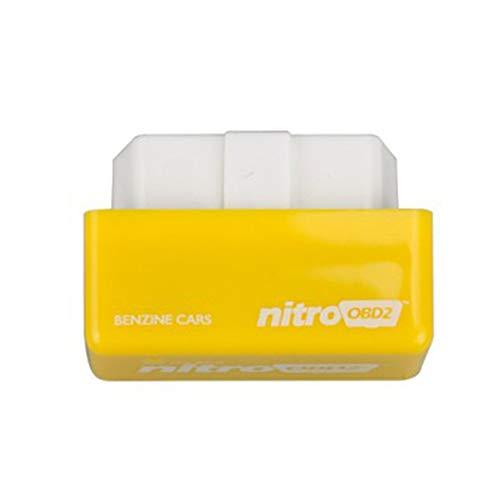 AIkong Nitro Petrol Engine Tuning ECU REMAP Performance BHP Power PCB OBD2 CHIP Box Yellow