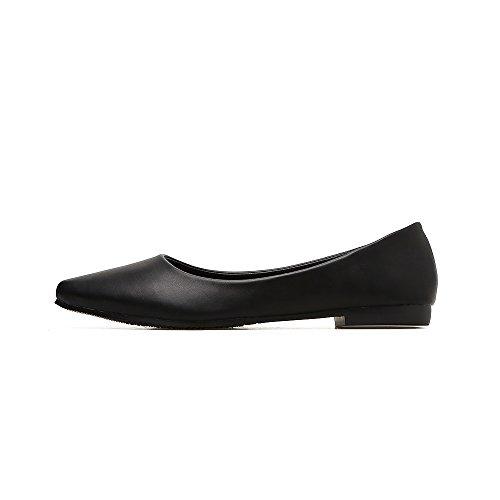 Zapatos Zapatos Con Zapatos Trabajo Trabajar Del De Vestido Banco El Mujer Zapatos Único Negro2 Para Etiquette Mujer Carrera Negro GAOLIM La Hotel Zapatos De Calzado p1XwAqO