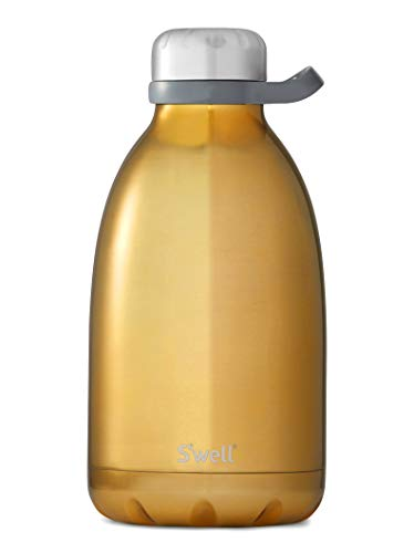 S'well 10564-B17-01270 Roamer Insulated Stainless Steel, 64oz, Yellow ()