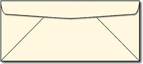 x10 /'Promise/' Cream Blank Multi-Purpose Wedding Cards with Envelopes