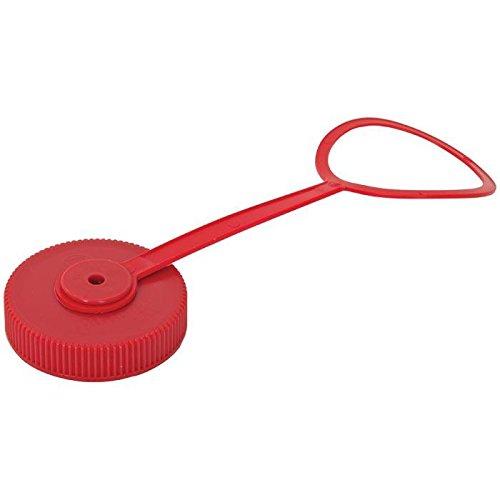 Nalgene Bulk Wide Mouth Red Loop-Top Lid (Red, Wide ()