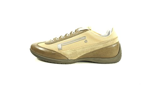 Pzero New Rex-11 Hombres Sneakers Sport Taupe