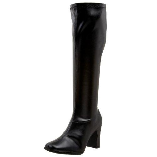 Funtasma by Pleaser Women's Kiki-350 Boot,Black Stretch,6 M by Funtasma