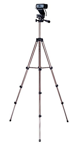 Webcam Tripod, Camera Tripod Mount Stand for Logitech Webcam C925e C922x C922 C930e C930 C920 C615-49 inches