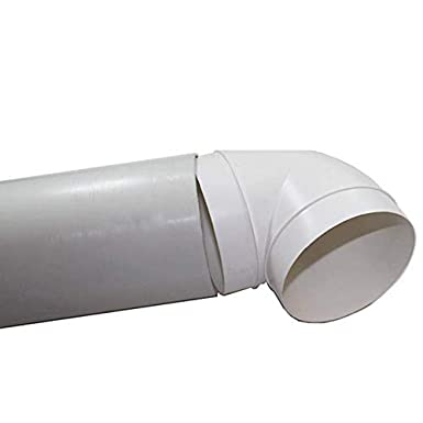 150 mm x 3 m Flexible Luftf/ührung PVC